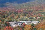 Vacationing in The White Mountains Will Pump You Up, Aerial View of Pollard Brook Condos in Lincoln, NH