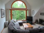 Living room view of Green White Mountain Forest