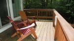Deck at Vacation rental