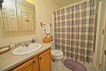 Full Bath in Waterville Estates Vacation Home