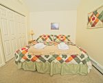 King Size Bedroom in Waterville Estates Vacation Rental