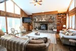 Den area with Pull out couch in Waterville Estates Vacation Rental