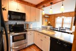 Fully Equipped Kitchen in White Mountain Private Vacation Home
