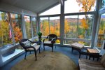 Beautiful Sun Room with Mountain Views