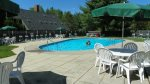 Outdoor pool at Waterville Estates, Campton, NH