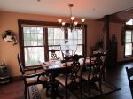 Large Dining Room to Enjoy your Family Meals together