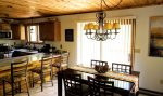Dinning room in Stand Alone three floor home in the Waterville Estates