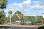 Tennis courts at Beachside Villlas