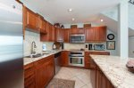 Beautiful, spacious kitchen with dishwasher, microwave, coffee maker and more