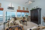 Beautiful beach front, 3rd floor unit offers amazing beach views