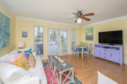 Charming Gulf Place Unit - Walk to Restaurants, Spacious and overlooks seasonally heated pool - Beach Access just steps away