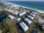 Aerial view of Beachside Villas - Less than 5 miles to Seaside