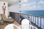 Beautiful Views from Private Balcony at One Seagrove Place