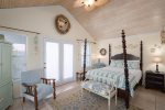 Well stocked, updated kitchen has dishwasher, microwave, coffee maker and more