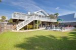 Wanna lounge on the deck while sitting in the sun