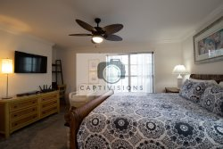 En-suite master bath with double vanities