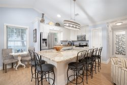 Beautiful updated well stocked open kitchen