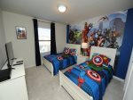 Marvel Twin Bedroom