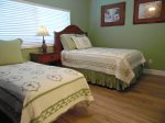 Guest Bedroom With Queen And Twin Bed