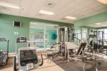 The Gulf Front Fitness Room