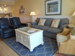 Gulf Front Living Room/TV