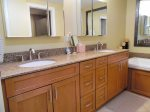 Master Bedroom Bath With Updated Double Sinks