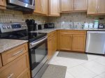Stainless Steel Appliances In Kitchen