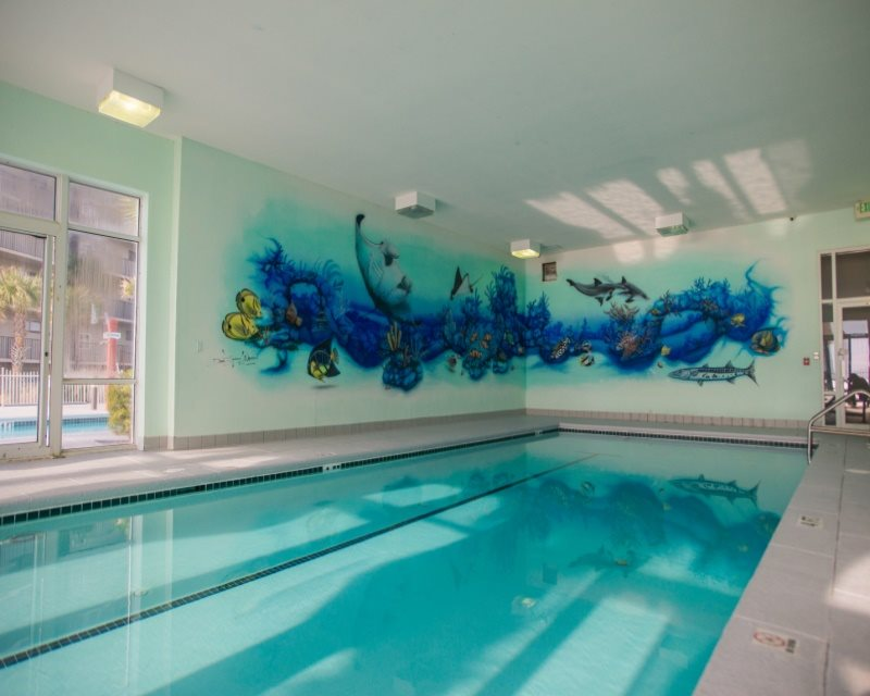 The Gulf Front Indoor Pool