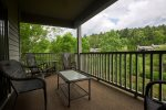 Large, private deck to enjoy the weather and views