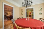 Easy access from dining to great room