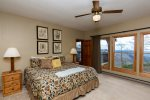 You will love this King Master Bedroom with a view.
