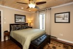 The second bedroom offers ample space and beautiful decor