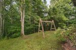 Tots and younger childrend will love the swing set