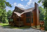 Beautiful newer, log cabin with everything you need for a fun filled get-a-way