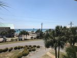 An aqua blue gulf coast view from your balcony.