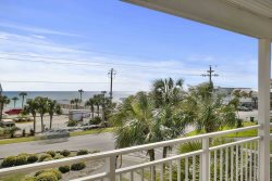 GRAND CARIBBEAN WEST #315. Gorgeous Gulf View from the wrap-around balcony. In awesome Crystal Beach area.