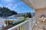 Spacious Living Area at Vacation Villa in Woodland Shores Community