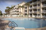 Maravilla`s front pool is just steps to the Coastline. Includes BBQ grills and plenty of poolside seating.