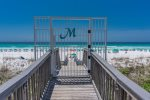 Gated entrance from Scenic Gulf Drive. Why wait. Book your Destin getaway today