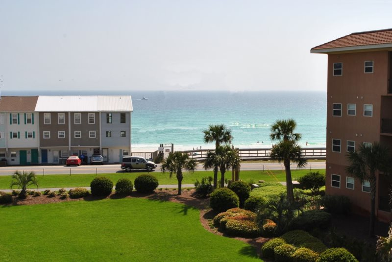 Sleeper Sleeps 8 Guests Beautifully Decorated Ious With Large 4th Floor Gulf View Balcony Small Dog Pet Friendly Near Elevator