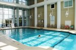 Beautiful Indoor Heated Pool - Swim out into the Outdoor Pool