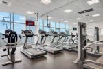 Newly upgraded fitness room free to Coastline Condos guests
