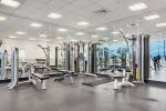 Enjoy your Work Out in the Exercise Room with Full Ocean View
