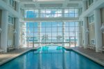 Beautiful Heated Indoor Pool -- You Can Swim to the Outdoor Pool From Here