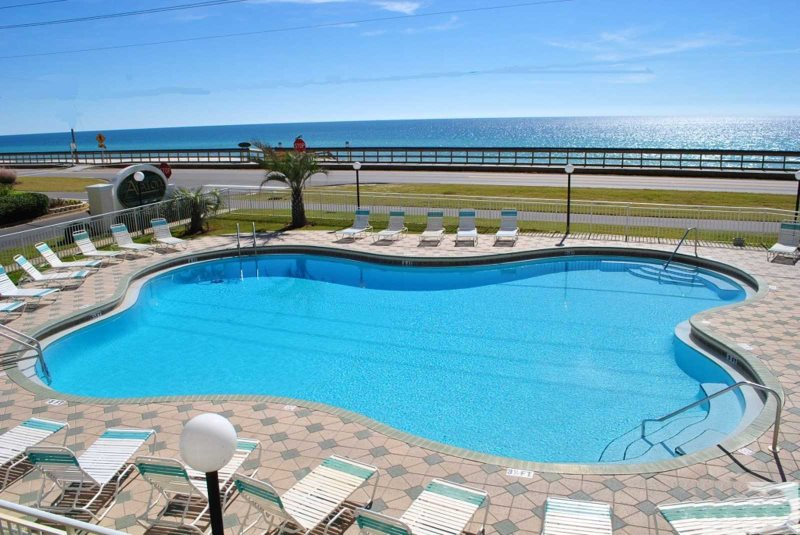Breathtaking Gulf View From Your Second Floor Balcony