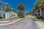 Welcome to Maravilla. Gated entrance from Scenic Gulf Dr on the Gulf of Mexico.