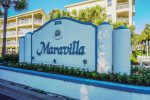 Welcome to Maravilla. Gated entrance from Scenic Gulf Drive.