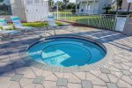 Inviting Family Pool Near Tennis Courts
