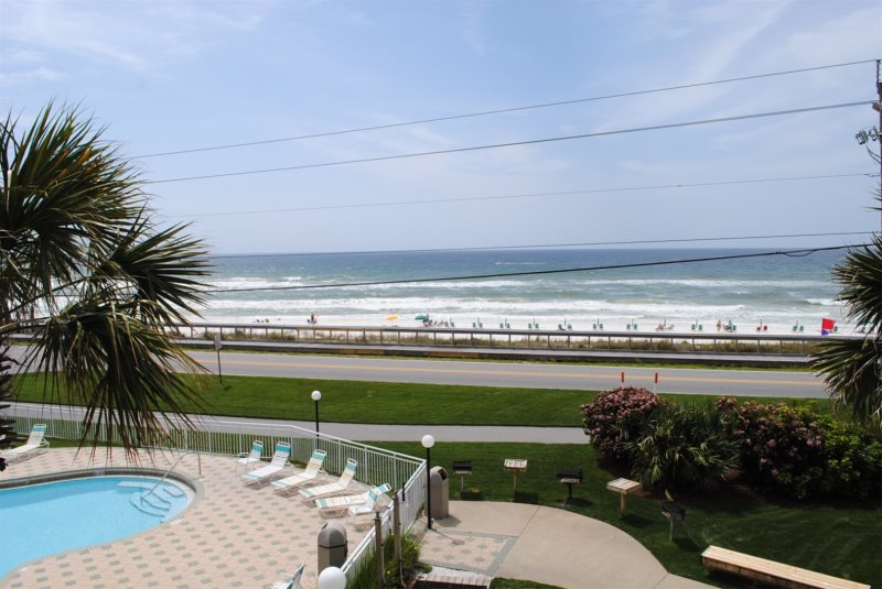 This Is It Gorgeous Beachfront View From Your Third Floor Balcony