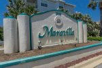 Lovely Maravilla. Gated entrance on the beachfront Scenic Gulf Drive.